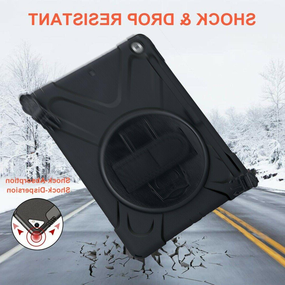 For iPad With Handle Grip Shoulder Strap Lifeproof