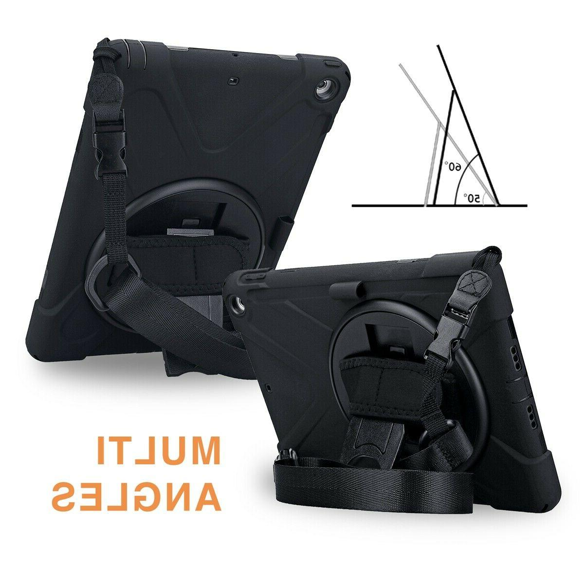 For iPad 5/6th 9.7'' With Handle Shoulder Strap Duty
