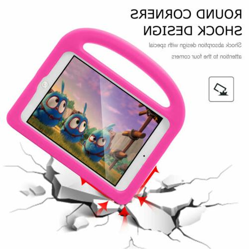For iPad 9.7 6th Stand Kids Safe Cover Handle