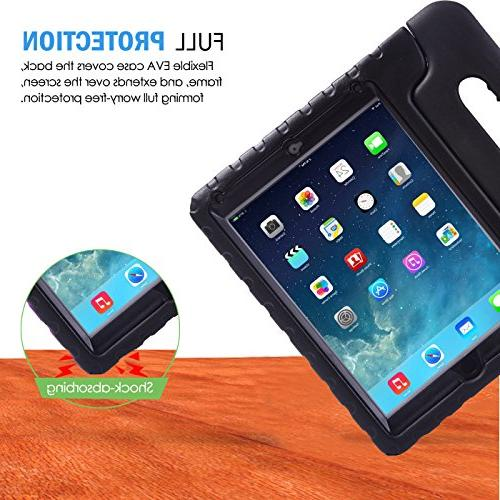 Air 2 Kids Shockproof Bumper Cover in Protector for Apple iPad 2 - 2014 Release Generation