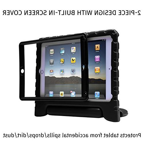 HDE Case Air Shockproof Hard Cover Handle Stand in Screen Apple iPad Air 2 - Generation