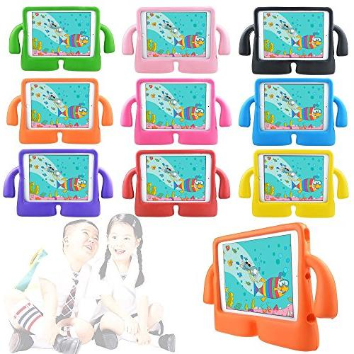iPad Case with by Hontu Freestand Lightweight Shockproof Protection Cases Foam Protective Children Cases for 1/2 5