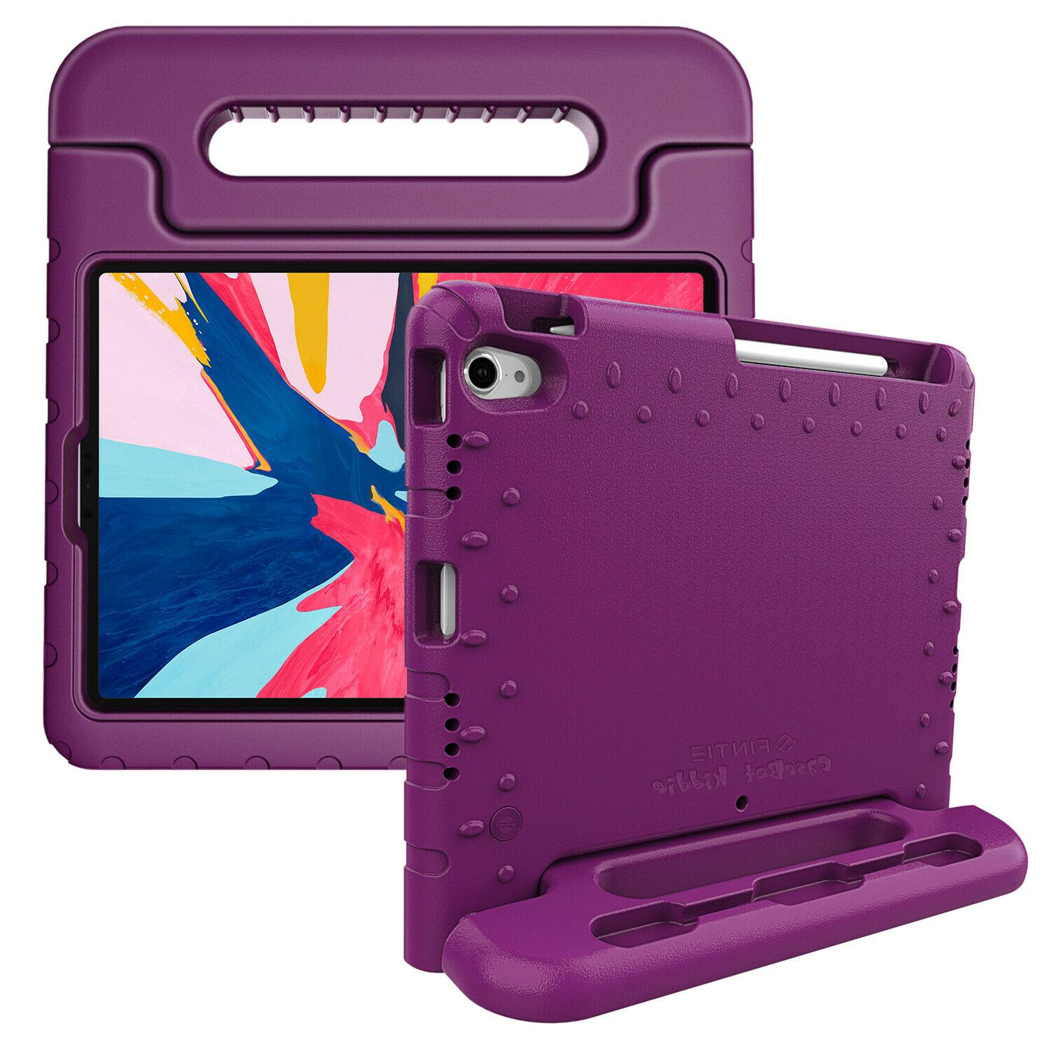 For iPad 2018 Shock Proof Handle Stand EVA with Pencil