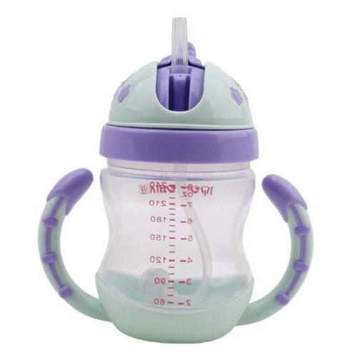 Kids Sippy No Spill Cup with Soft Spout Bottle