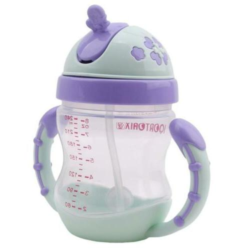 kids sippy no spill cup with handle