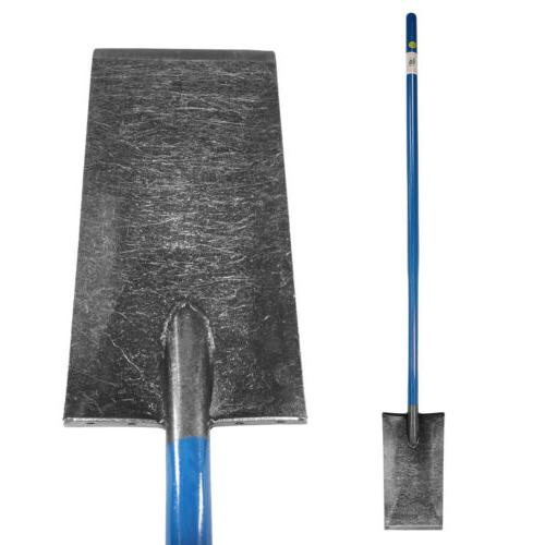 """King of Spades with 13"""" Blade and Long Handle for Gardening"""