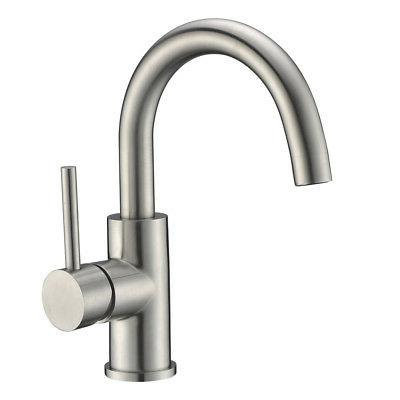 kitchen sink bar faucet stainless steel lavatory