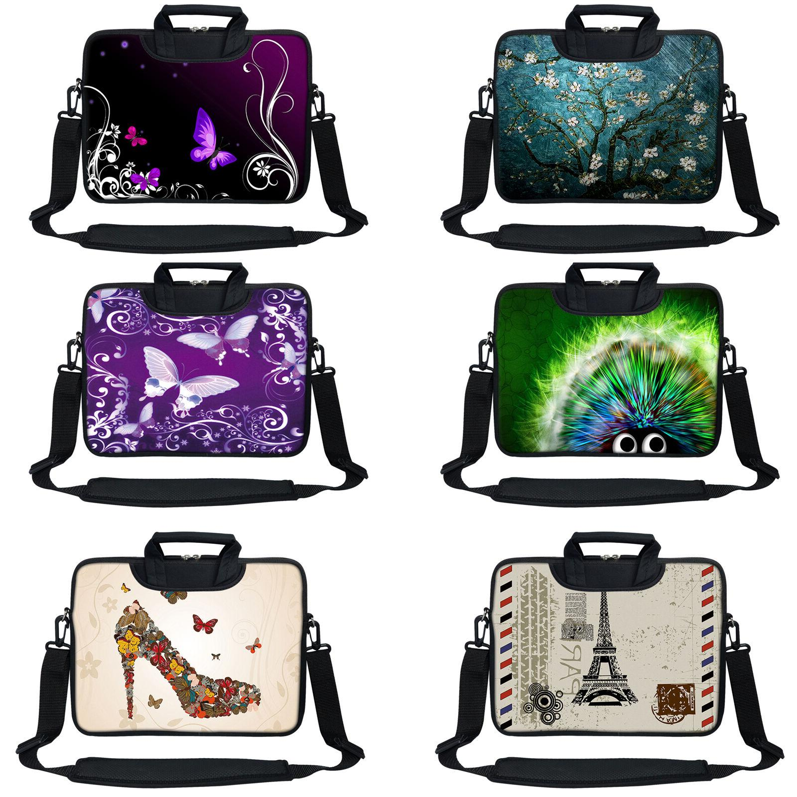 laptop computer sleeve bag with 2 top