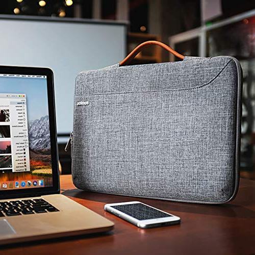 """tomtoc Sleeve Handle Compatible with 15"""" New MacBook Bar Late 2016-2018 