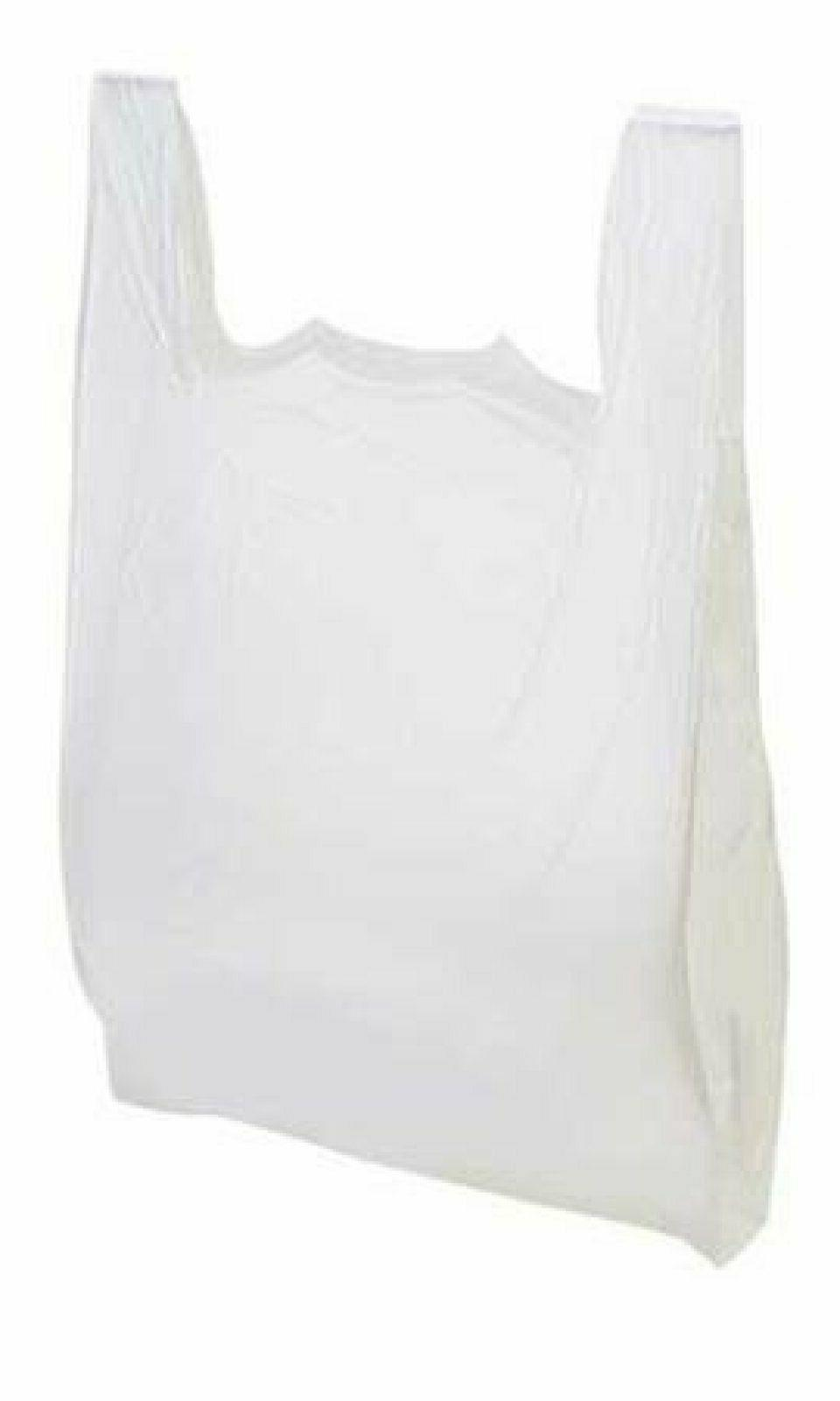 large plastic grocery t shirts carry out
