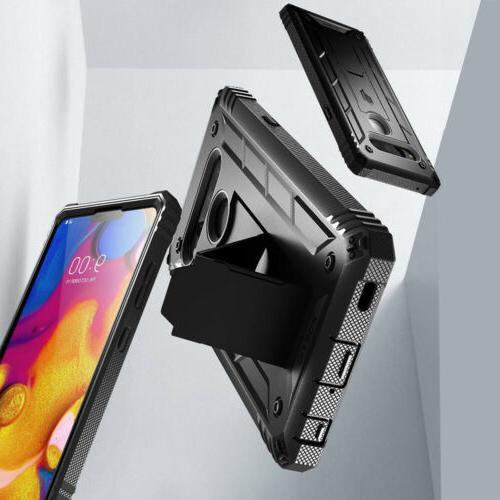 For LG V40 CasePoeticShockproofCoverwithScreenProtector