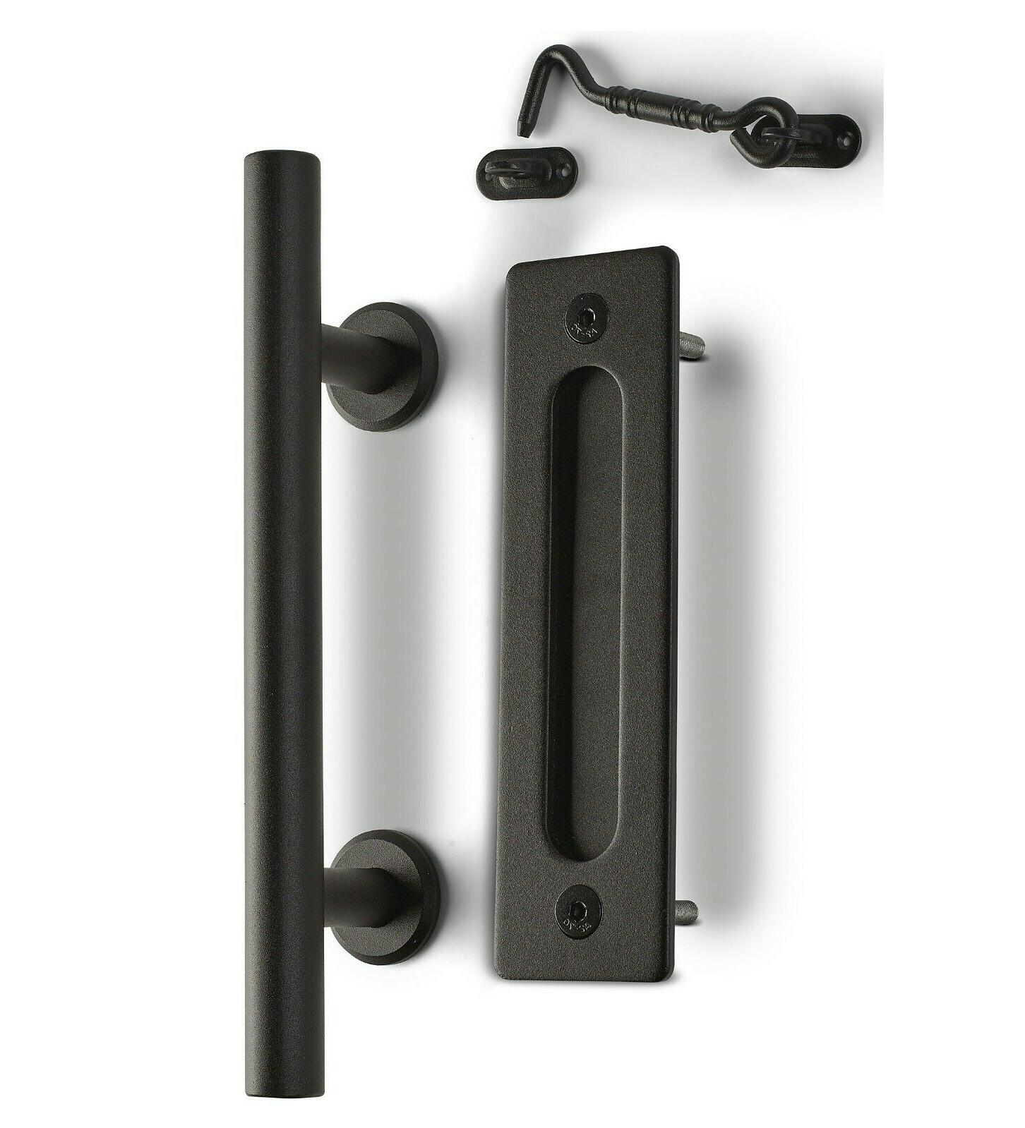 MJC Barn Door Pull Privacy Latch