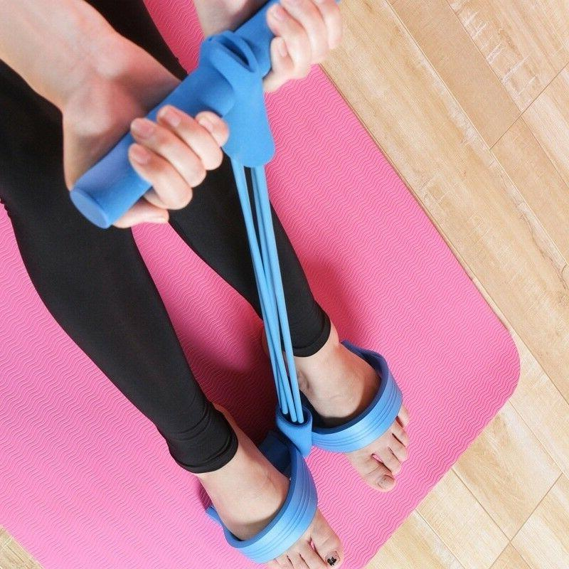Multi-Function Tension Rope with Handle Bodybuilding