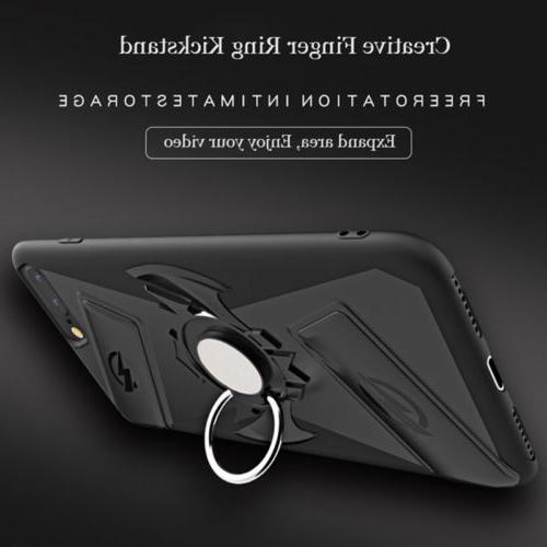 Multifunction Game Pad Case Cover iphone X 8 With Finger Ring