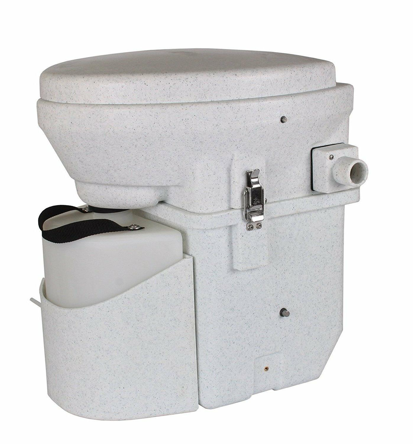 Nature's Self Contained Composting Toilet with Close Quarters