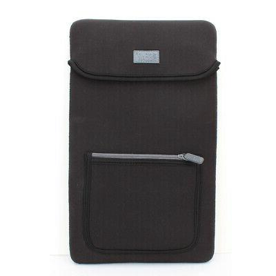neoprene 14 tablet case with front pocket