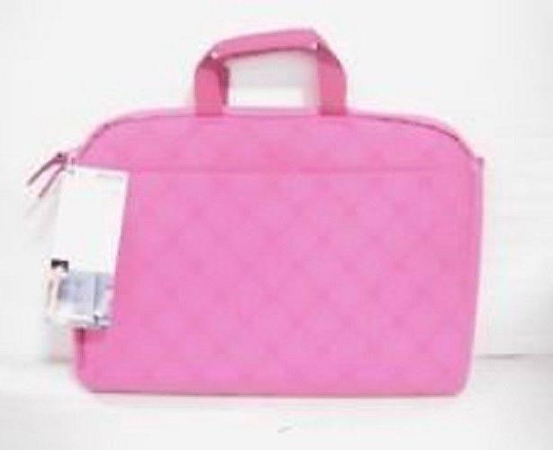 NEW Belkin 15.6 Pink Laptop Sleeve With Handle  F8N118-FDP