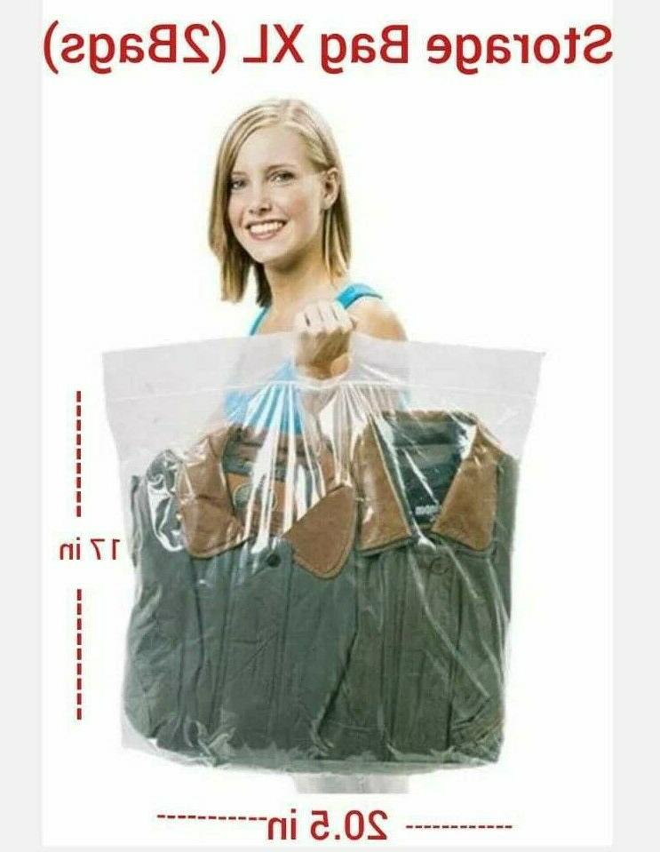 New STORAGE with Handle Clothes BIG XL L