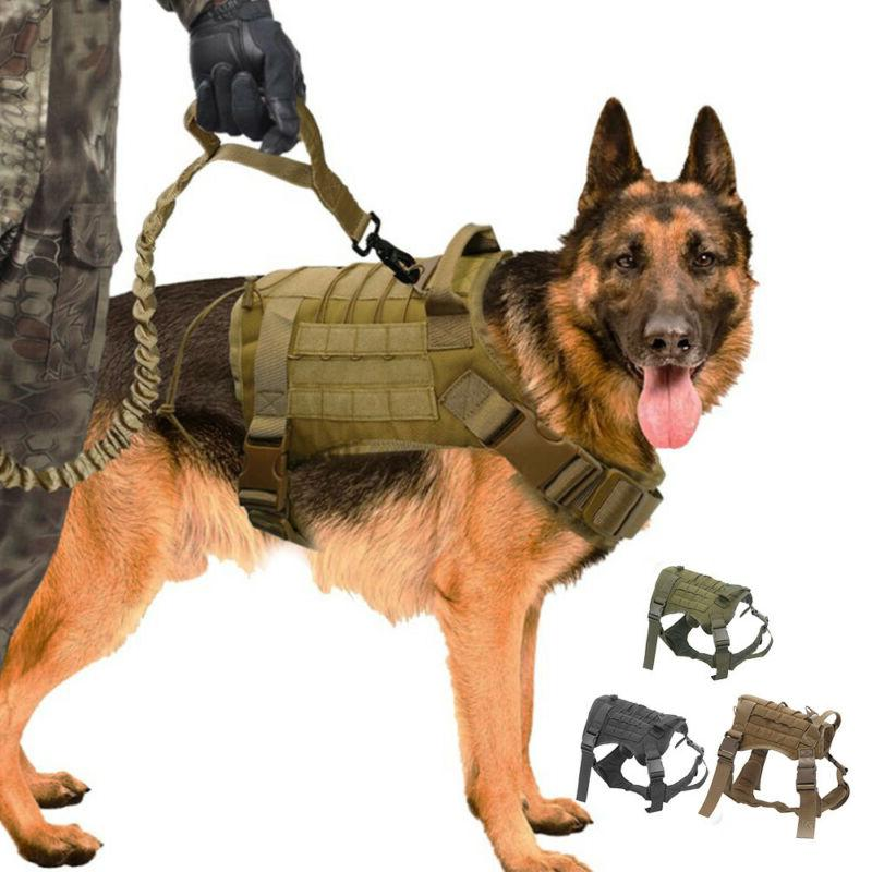 new tactical dog vest harness military k9