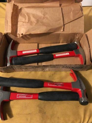 no 16 ripping claw hammer with fiberglass