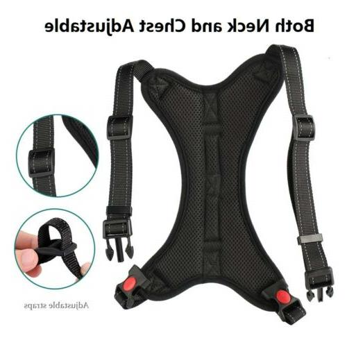 No Pull Small Dog Chest Strap Set Handle