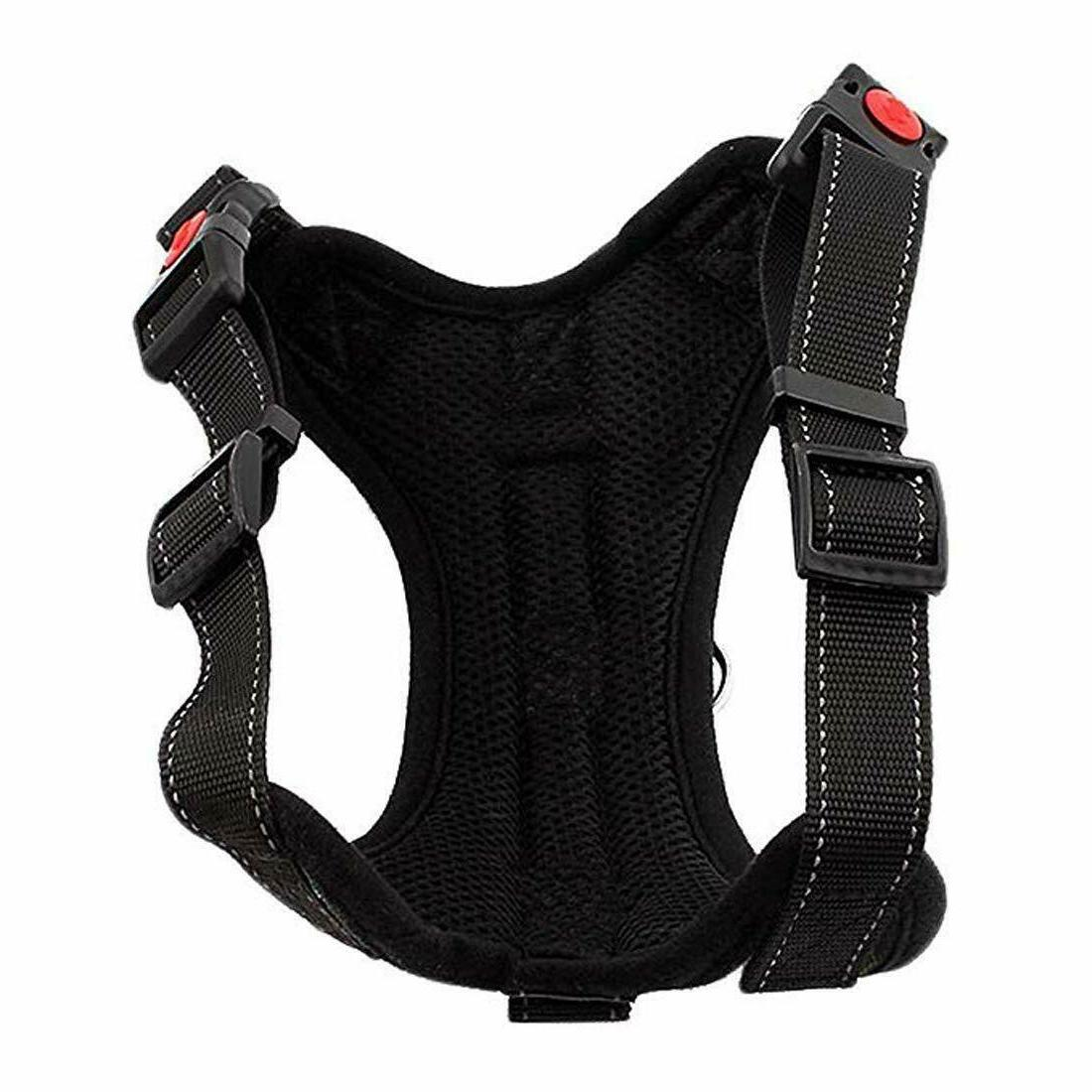 No with Belt Reflective Adjustable Body Padded