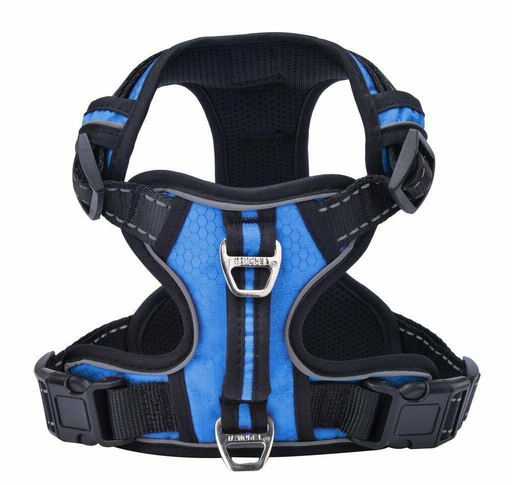 no pull reflective dog harness with vertical