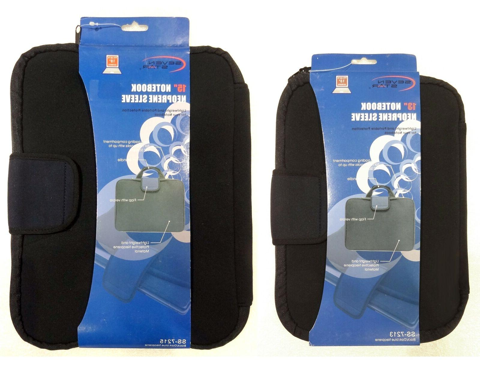 notebook tablet lightweight neoprene sleeve with handle