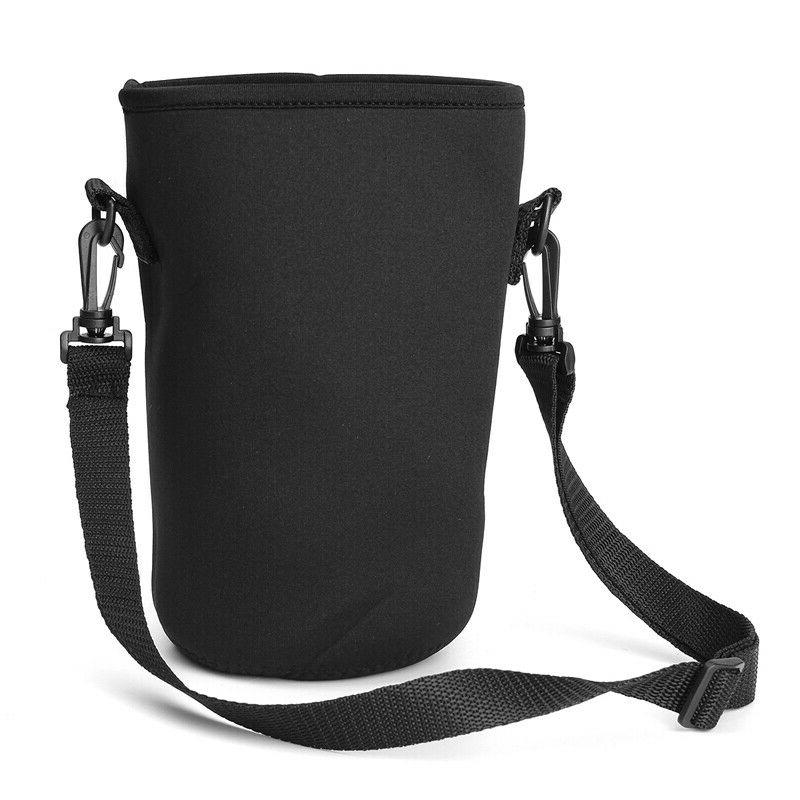 18/36/64 oz Water Bottle Sleeve Carrying Bag Strap Handle