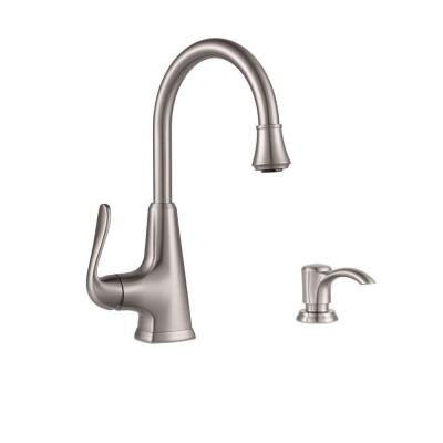 Pfister Pasadena Single-Handle Faucet Stainless