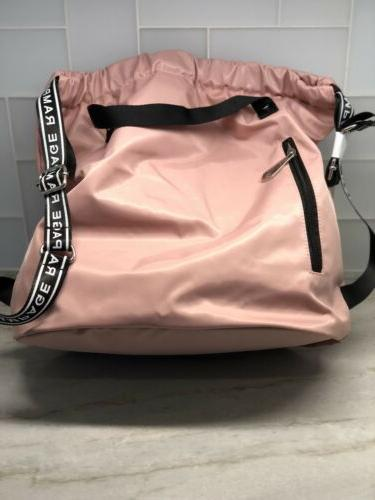 Rampage Pink Backpack With Handle and Straps