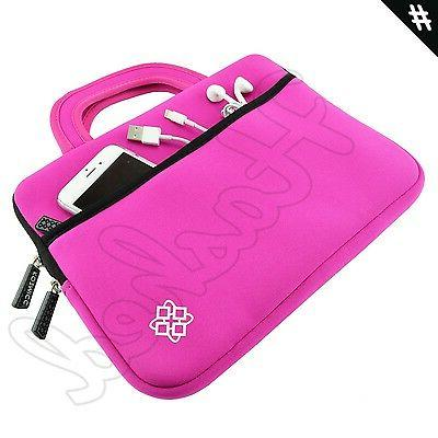 pink sleeve with handle for apple ipad
