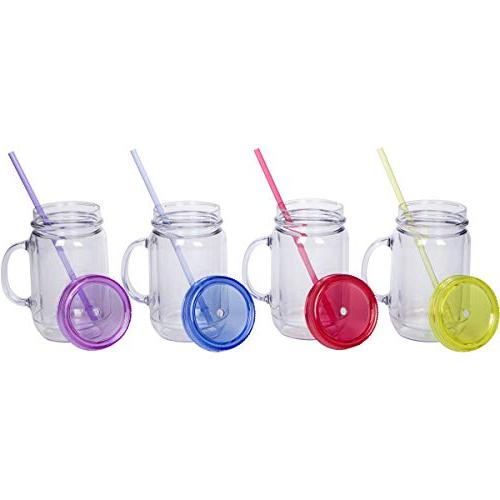 Zephyr Goods Jars with Lids and | oz Double | | Wide Mouth Mugs | for Free Dishwasher