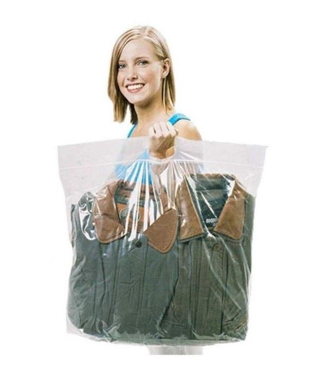 Plastic BAGS with Handle Loc BAG BIG L