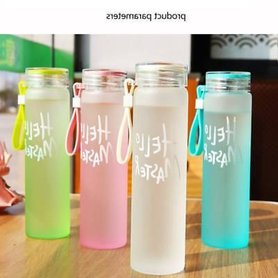 Gradient Color Drinking Bottle with