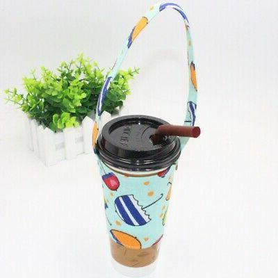 Portable Print Bottle Carrying Bag with Handle for Tumbler