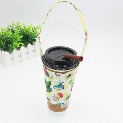 Portable Mug Cup Bottle Carrying Pouch Bag with Tumbler