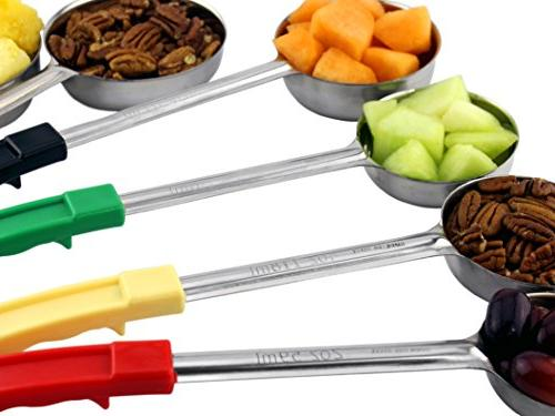 Portion Control ; w 1/4 1/2 & 1 Cup Slotted & Cup