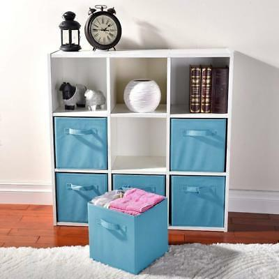 Practical Bins Handle, Fabric Drawers, Blue