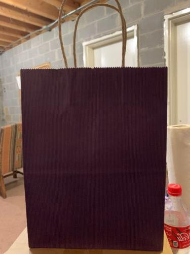 purple gift bags 8x4 75x10 5in 100pcs