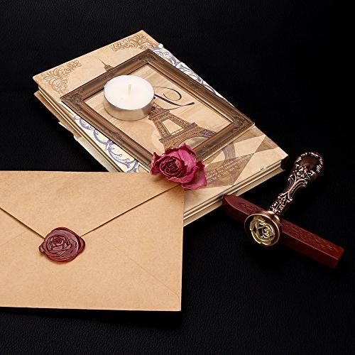 Jiulyning The Seal Stamp Vintage Red Color