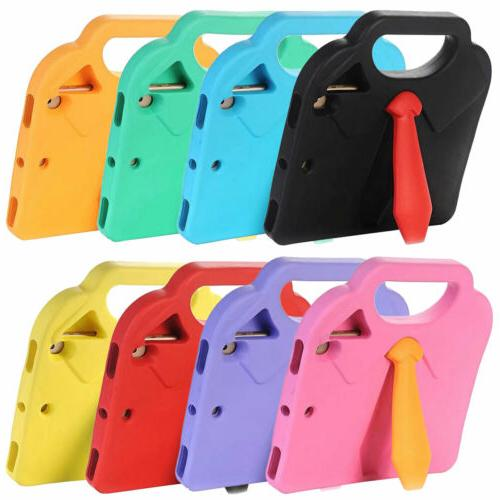 Lovely Tie Design Kids Shockproof Case With Handle Cover For