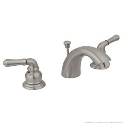 satin nickel 4 8 mini widespread lav