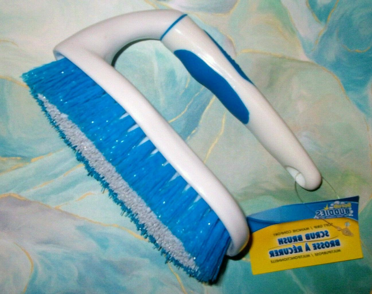 scrub brush with iron handle all purpose