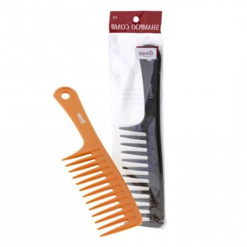 shampoo comb with handle 22 wide tooth