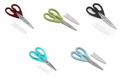 shears with soft grip handles 5 colors