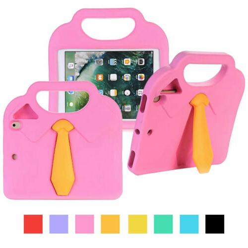 shockproof rubber stand tablet case with handle