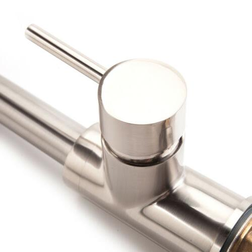 Single Handle Kitchen Faucet with Stainless