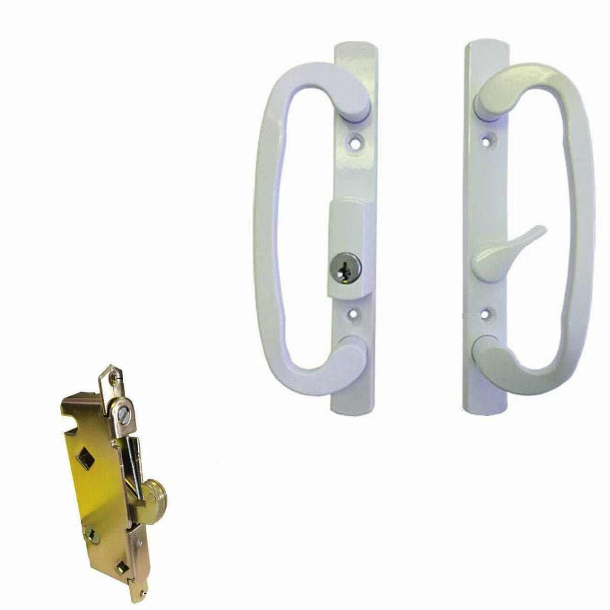 sliding glass patio door handle set