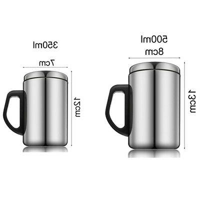 Stainless Mug Drinking With Handle